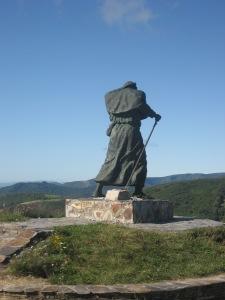 Statue de la pèlerine
